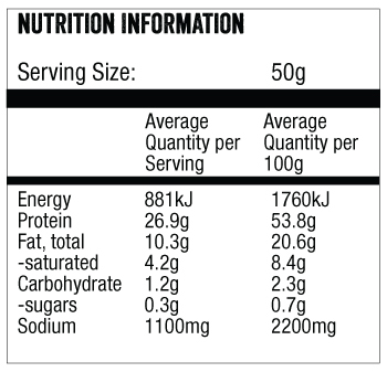 chilli chips nutritional info